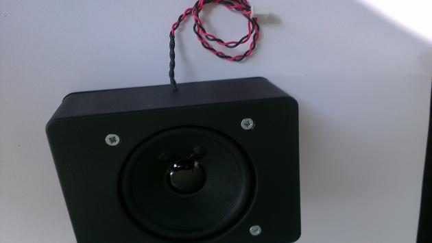 Lautsprecherbox groß 10 Watt