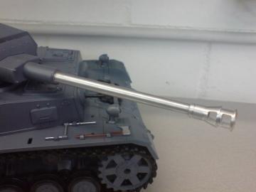 7,5 cm KwK 40L48 ausf.J für das RRZ-System von Heng Long Optimiert