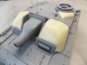 Zusatzpanzerung Set Beton StuG III Ausf. G