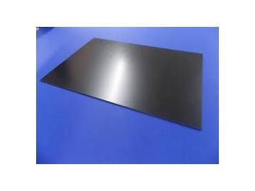 Polystyrol 400x600mm schwarz
