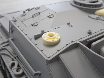 Sockel innenbedienbares MG StuG III Ausf. G
